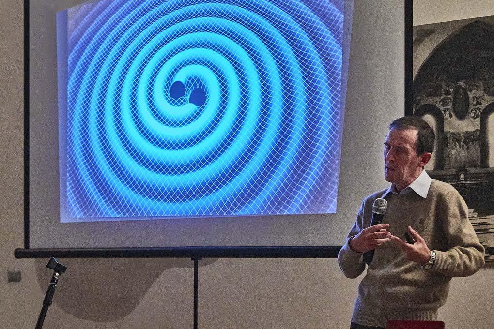 Cesare Guaita Onde Gravitazionali Conferenza Abbazia di Mirasole Opera Dalla Terra al Cielo