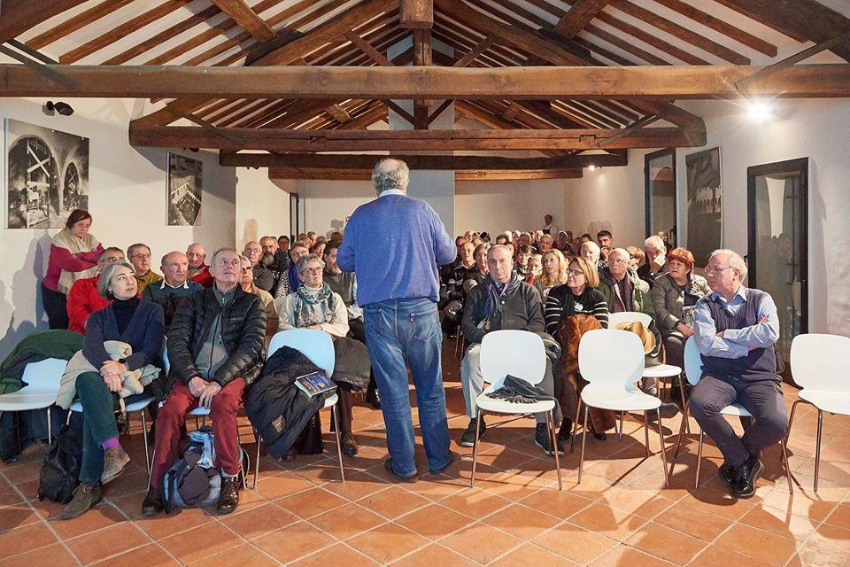 Conferenza Pier Paolo Di Fiore all'Abbazia di Mirasole Dalla Terra al Cielo