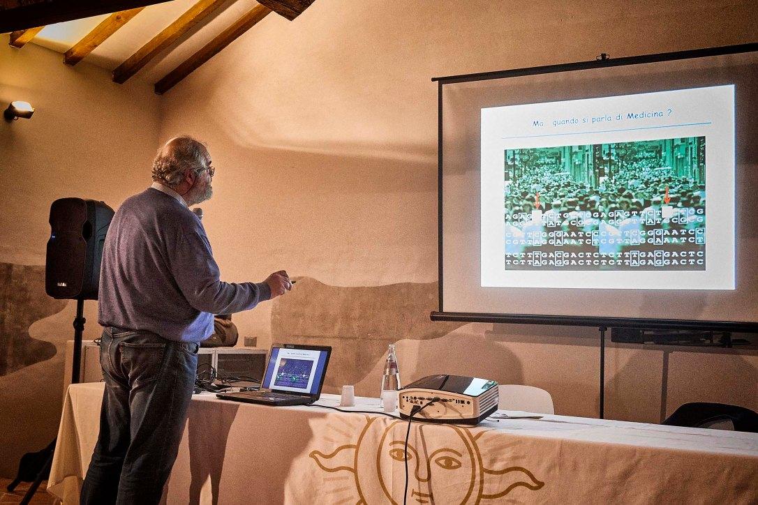 Conferenza Prof. Di Fiore Abbazia Di Mirasole Dalla Terra al Cielo