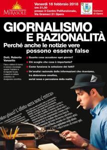 Giornalismo e Razionalità Roberto Vanzetto