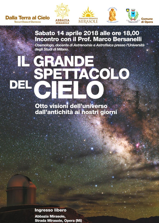Conferenza astronomia Milano AstroMirasole Marco Bersanelli
