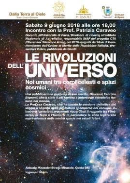 Le Rivoluzioni dell'Universo conferenza astronomia Milano Patrizia Caraveo