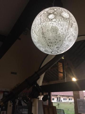 Luna Gonfiabile Abbazia di Mirasole astronomia