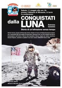 Conferenza astronomia scienza Abbazia Mirasole Patrizia Caraveo Apollo 11