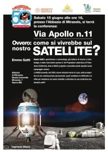 Conferenza astronomia Milano Abbazia di Mirasole