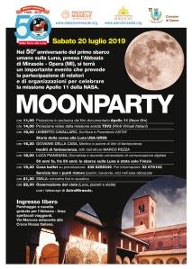 Giornata astronomia Mirasole Abbazia Moon Party Milano