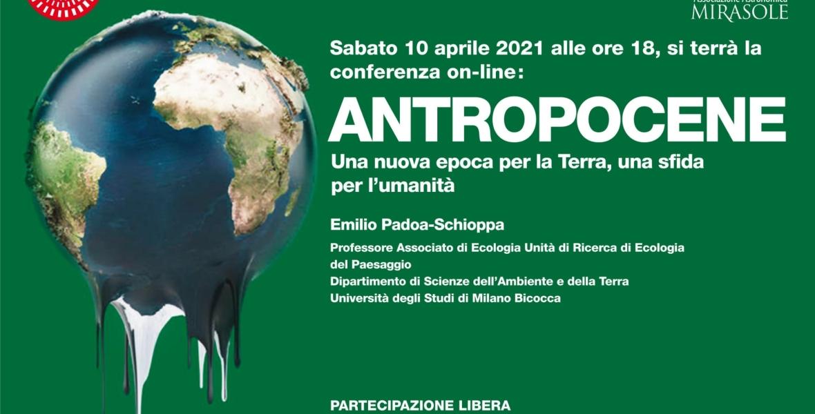 antropocene conferenza astronomia